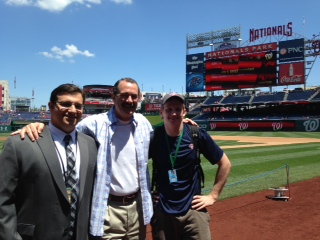 Sports Management Internship at Nationals
